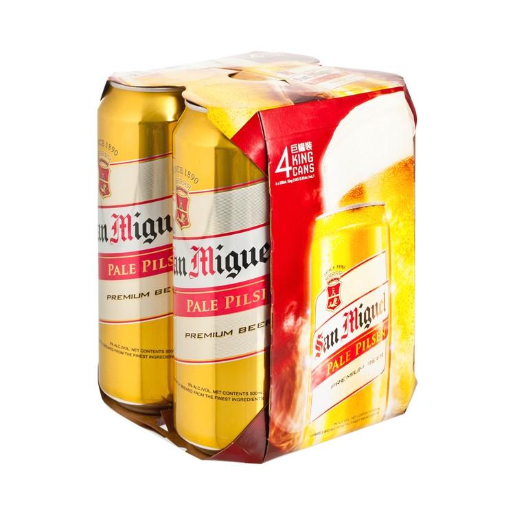 生力 - 啤酒 (巨罐裝) - 500MLX4