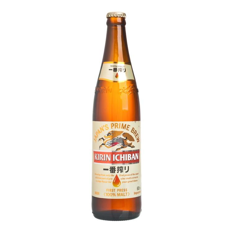 麒麟 - 一番搾啤酒 (大樽裝) - 600ML