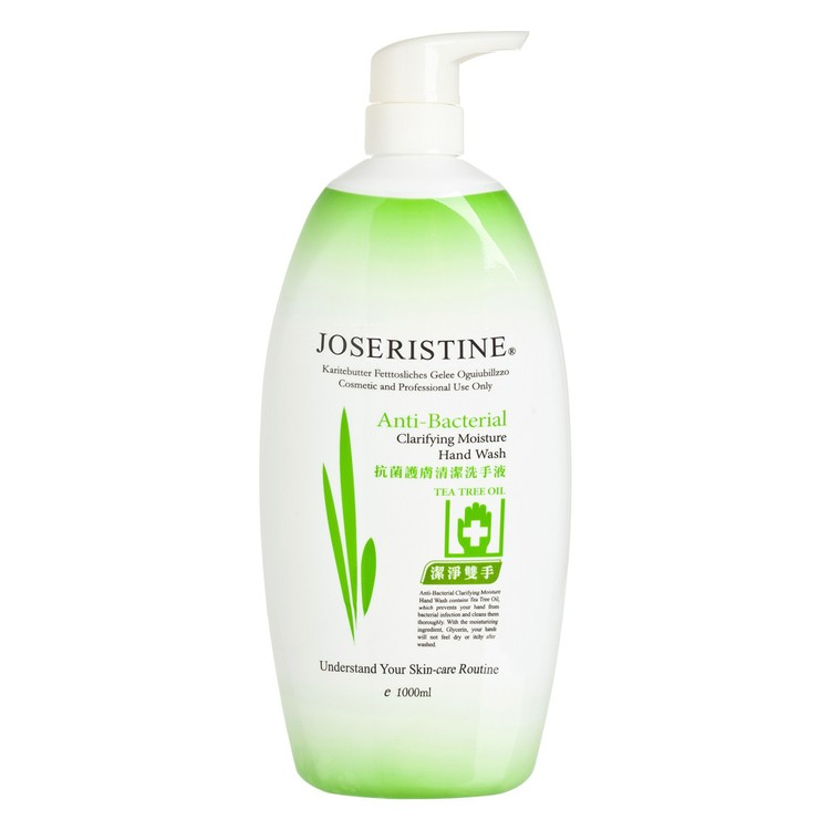 JOSERISTINE BY CHOI FUNG HONG - ANTI-BACTERIAL  CLARIFYING MOISTURE HAND WASH - 1L