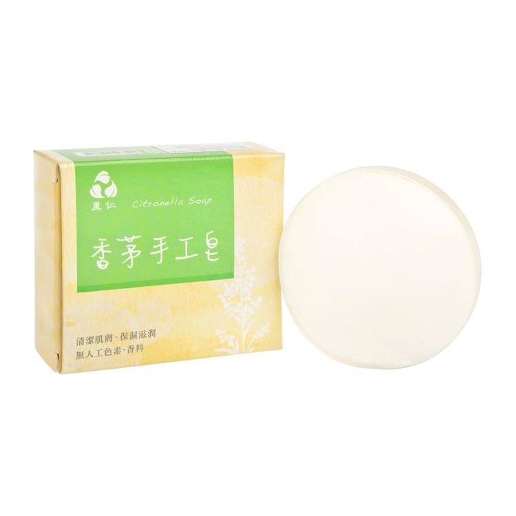 里仁 - (滋潤驅趕蚊蟲)香茅透明手工皂 - 130G