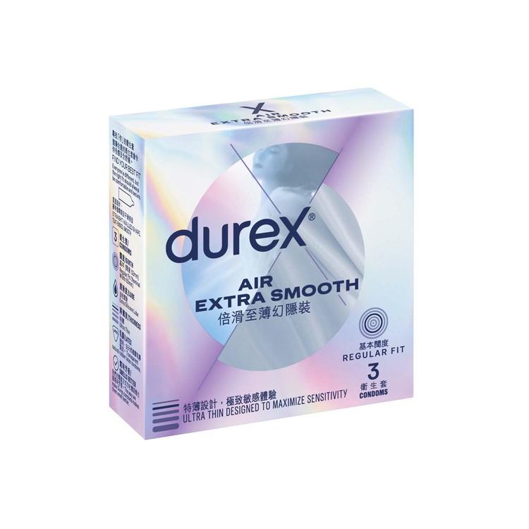 DUREX - AIR EXTRA SMOOTH CONDOM - 3'S