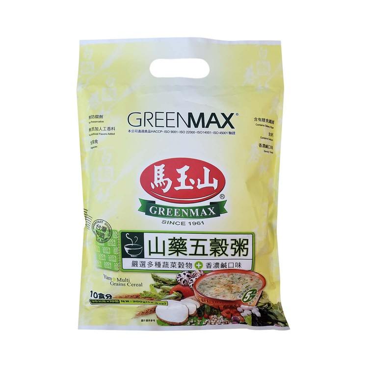 GREENMAX - YAM & MULTI GRAINS CEREAL - 35GX12