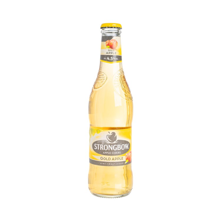 STRONGBOW - APPLE CIDERS-GOLD APPLE  - 330ML