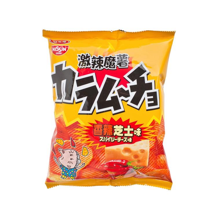 日清 - 湖池屋薯片-香辣芝士 - 55G