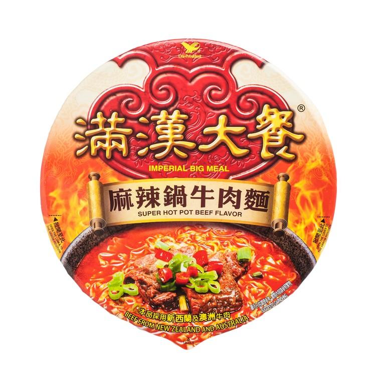 統一 - 滿漢大餐-麻辣鍋牛肉麵 - 204G