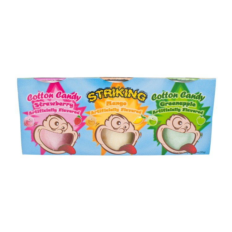 STRIKING - COTTON CANDY-ASSORTED - 11GX3