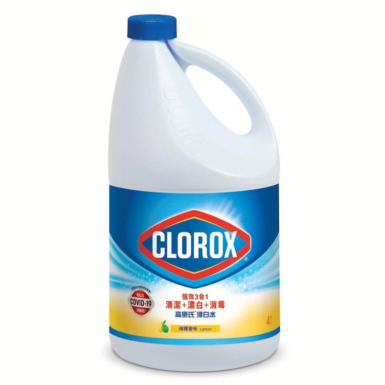 CLOROX - BLEACH-LEMON - 4L