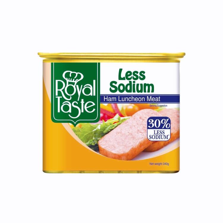 ROYAL TASTE - LUNCHEON MEAT-LESS SODIUM - 340G