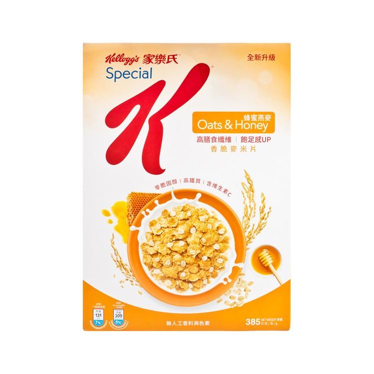 KELLOGG'S SPECIAL K - HONEY & OATS CEREAL - 385G