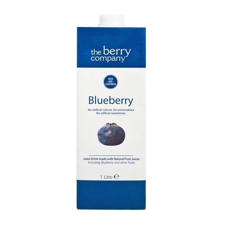 THE BERRY CO.(PARALLEL IMPORT) - BLUE BERRY JUICE - 1L