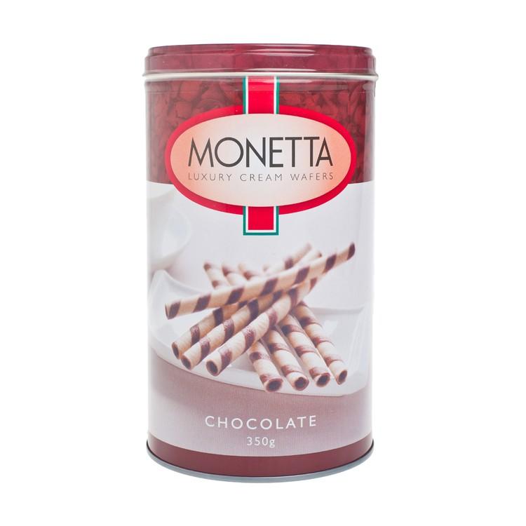 MONETTA - LUXURY CREAM WAFFERS-CHOCOLATE - 350G