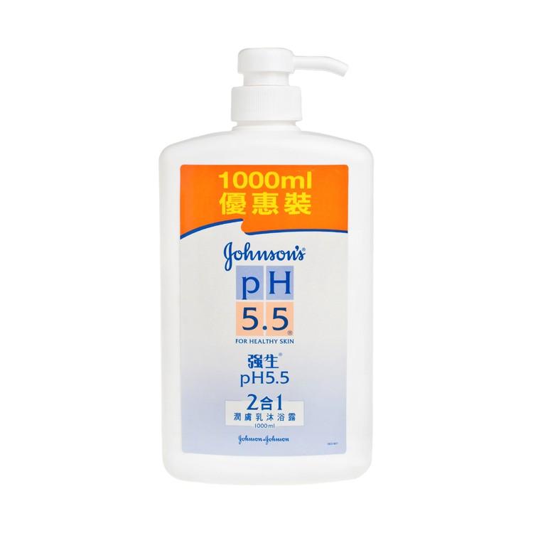 強生PH5.5 - 二合一潤膚沐浴露 - 1L