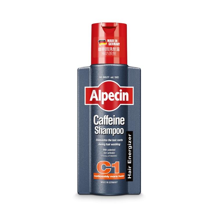 ALPECIN -  C1 咖啡因洗髮露 - 防脫髮 激活頭髮生長 - 250ML