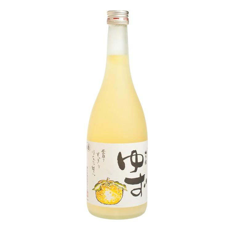 梅乃宿 - 柚子酒  - 720ML