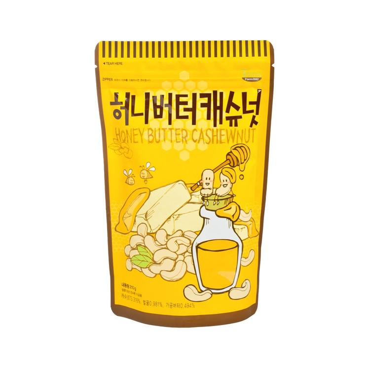 TOM'S FARM - 乾焗原粒腰果-牛油蜂蜜 - 210G