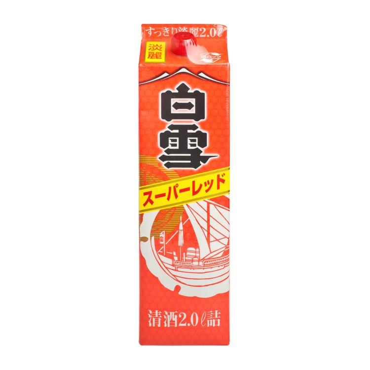 SHIRAYUKI - SUPER RED IN PAPER - 2L