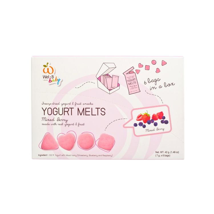 WEL-B - 嬰兒全天然冷凍乾燥乳酪-雜莓 - 7GX6