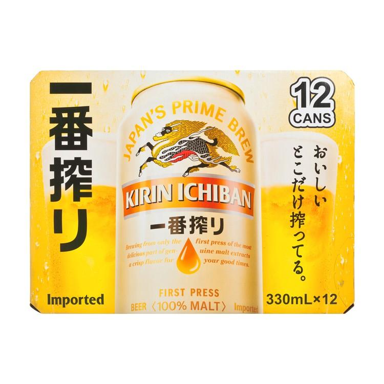 麒麟 - 一番搾啤酒 - 330MLX12