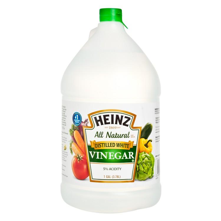 HEINZ - WHITE VINEGAR - 3.78L