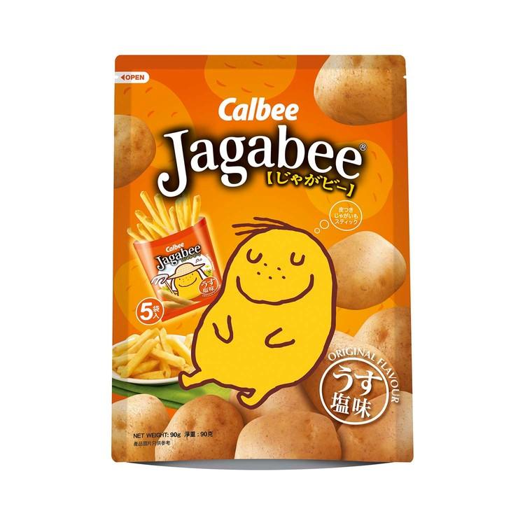 CALBEE - JAGABEE POTATO CHIPS - 18GX5