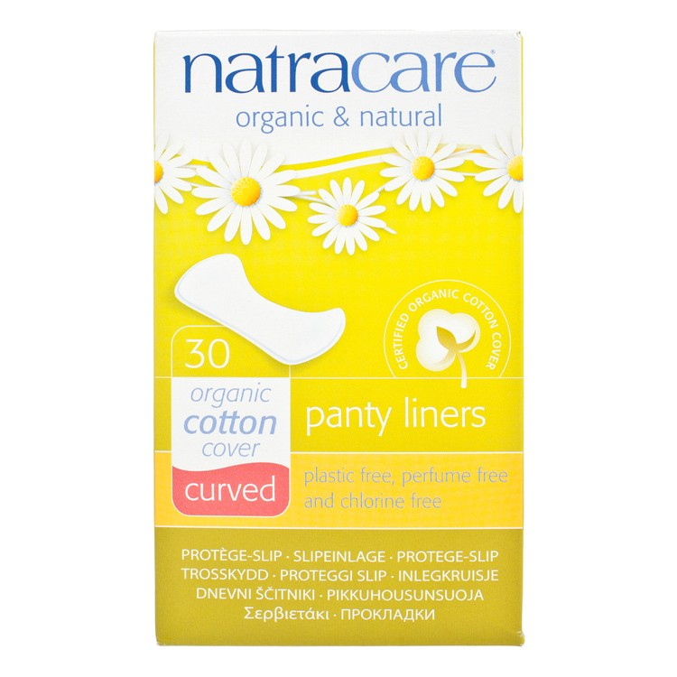 NATRACARE - PANTY LINERS-CURVED 16CM - 30'S