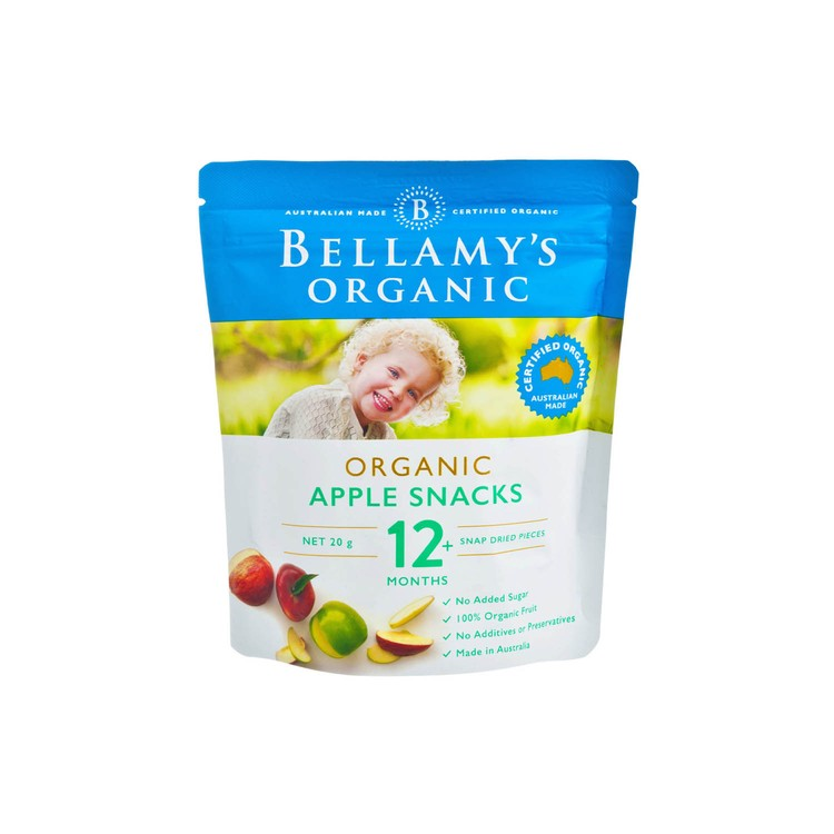 BELLAMY'S ORGANIC - APPLE SNACKS - 20G