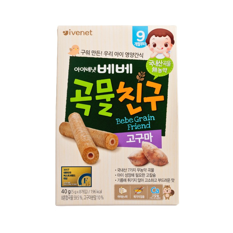 IVENET - BEBE GRAIN FRIEND-SWEET POTATO - 40G