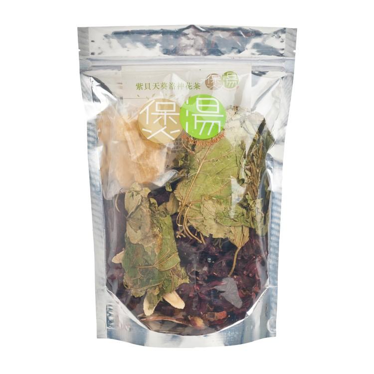 煲湯 - 涼茶・良茶系列-紫貝天葵洛神花茶 (送冰糖) - PC