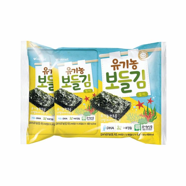 貝貝 - 有機營養紫菜 - 4GX4