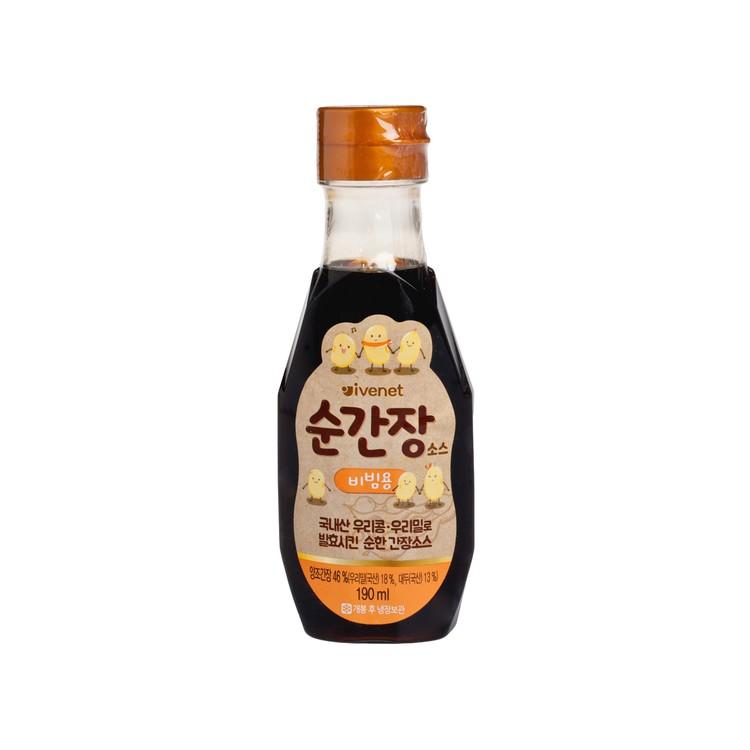 貝貝 - 幼兒專用調味醬油 - 餸料用 - 190ML
