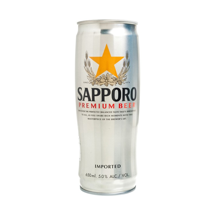 SAPPORO - THE PREMIUM BEER (KING CAN) - 650ML