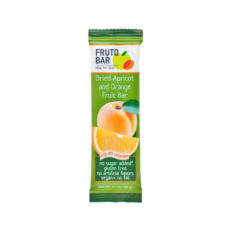 FRUTO BAR - 乾杏橘子果條 - 30G