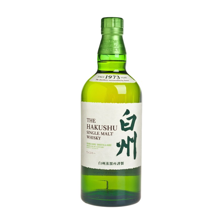 SUNTORY - HAKUSHU SINGLE MALT WHISKY - 700ML