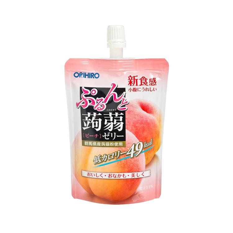 ORIHIRO - 蜜桃蒟蒻啫喱 (啜啜裝) - 130G