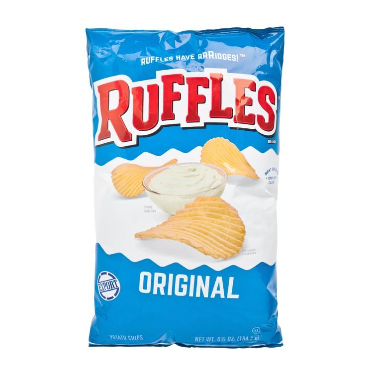 RUFFLES - REGULAR POTATO CHIPS - 184.2G