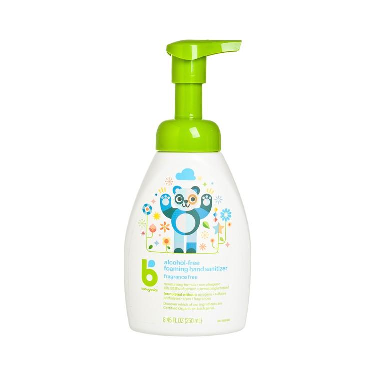 BABYGANICS(平行進口) - 消毒搓手液(泵裝)-無香味 - 250ML
