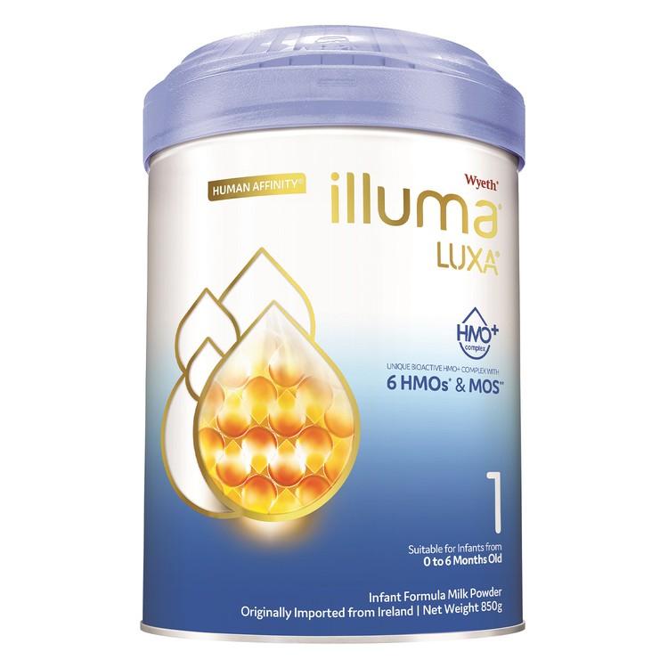 惠氏 ILLUMA - ILLUMA 1號 初生嬰兒配方奶粉 - 850G
