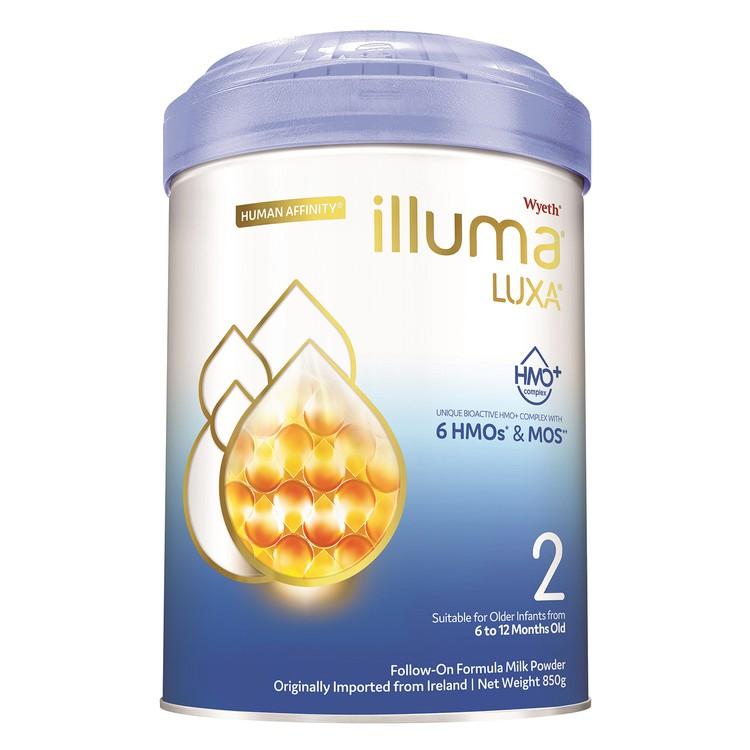 惠氏 ILLUMA - ILLUMA 2號 較大嬰兒配方奶粉 - 850G