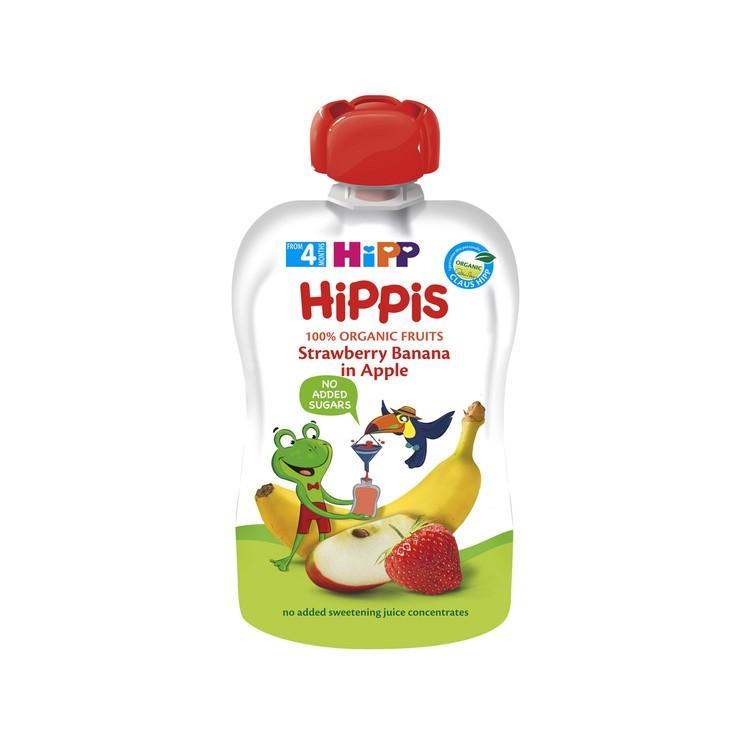 喜寶 - 有機草莓香蕉蘋果唧唧裝 - 100G