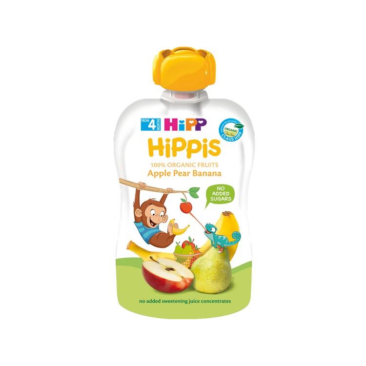 HIPP - ORGANIC APPLE PEAR BANANA - 100G