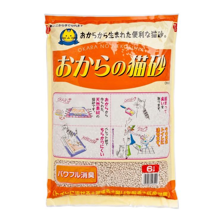HITACHI - TOFU CAT LITTER ORANGE - 6L