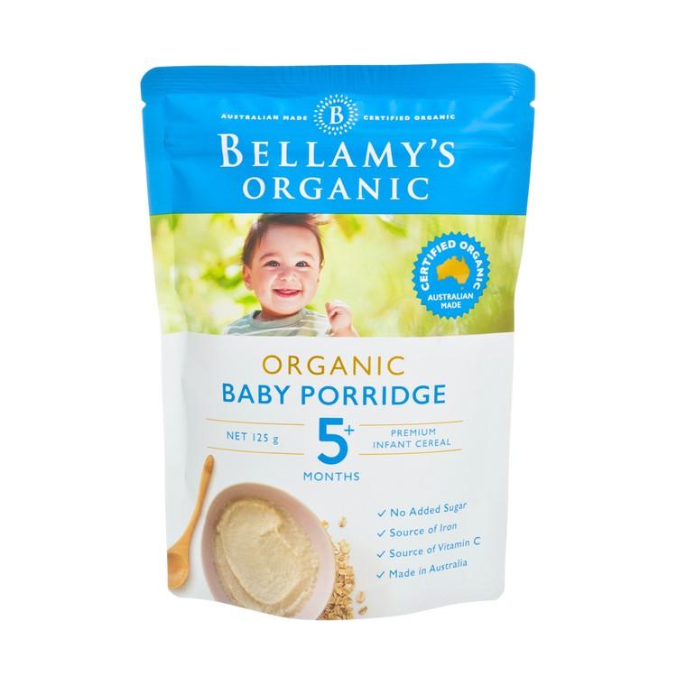 BELLAMY'S ORGANIC - ORGANIC BABY PORRIDGE - 125G