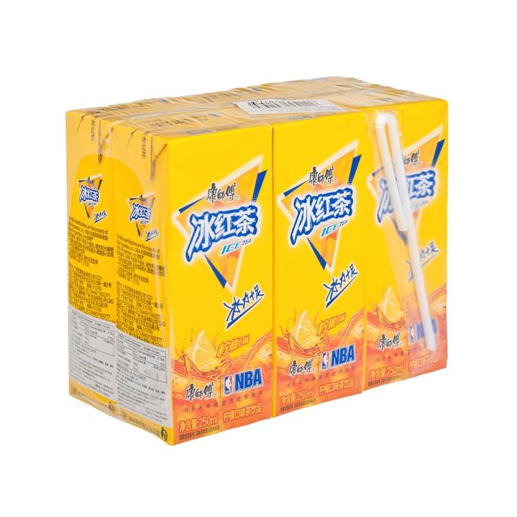 康師傅 - 冰紅茶(盒裝) - 250MLX6