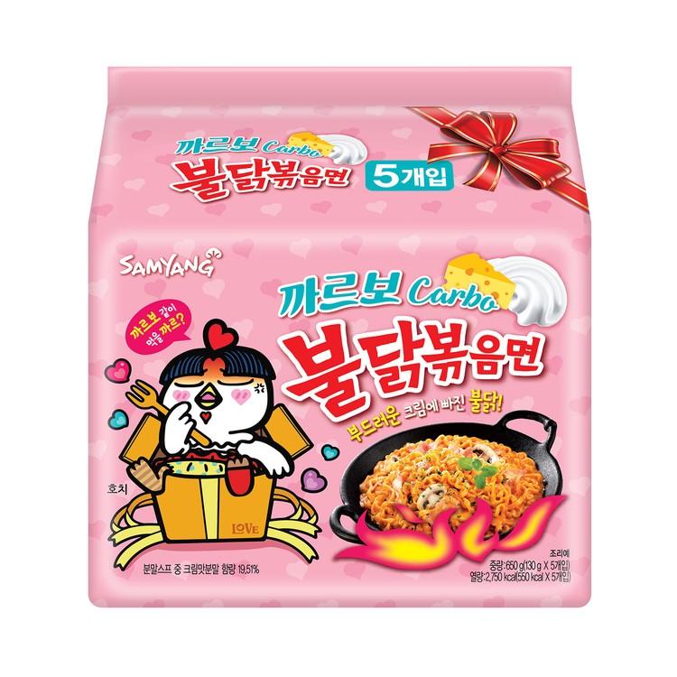 三養 - 辣香雞撈麵-卡邦尼 - 130GX5