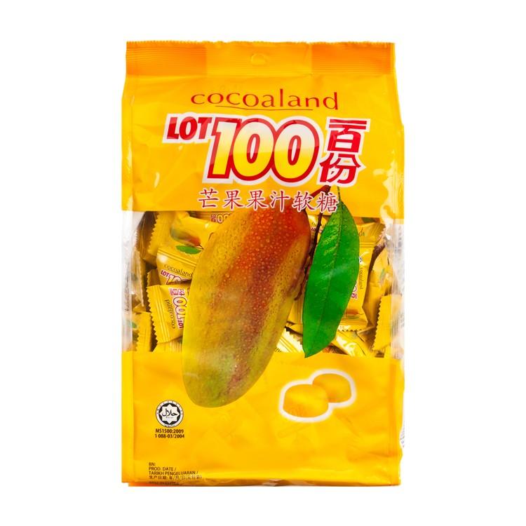 COCOALAND - LOT100 MANGO GUMMY CANDY - 1KG