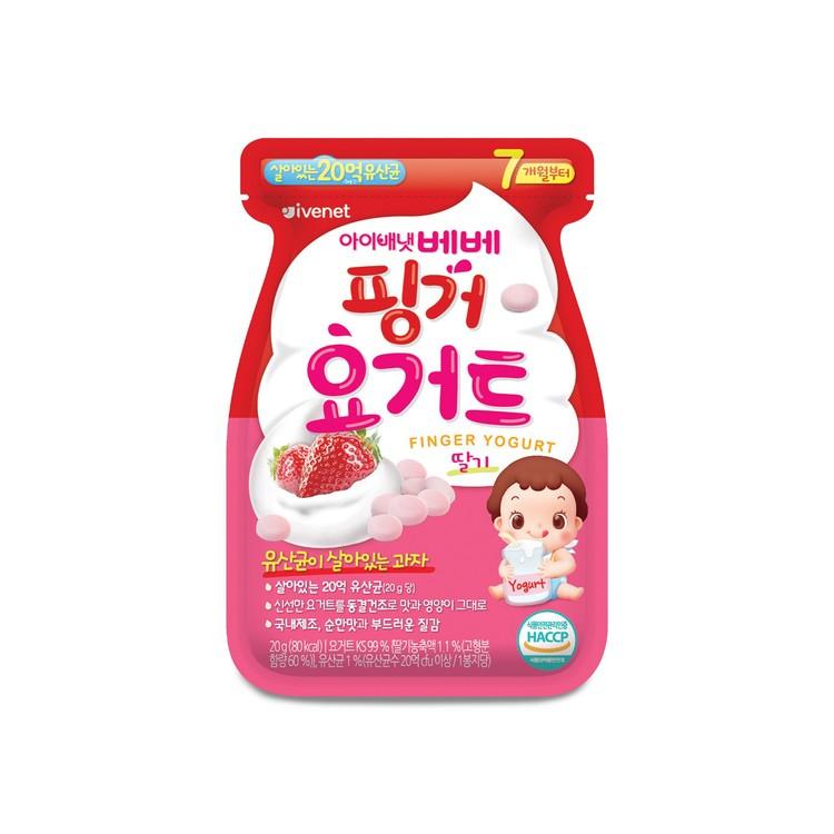 貝貝 - 益生菌乳酪粒-草莓味 - 20G