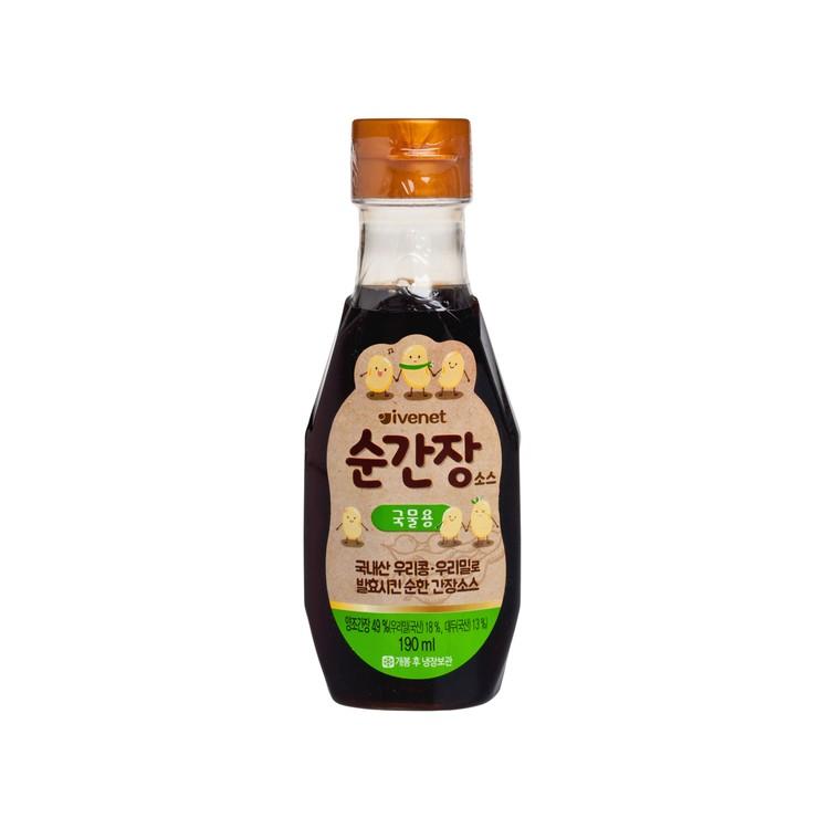 貝貝 - 幼兒專用調味醬油(烹湯用) - 190ML