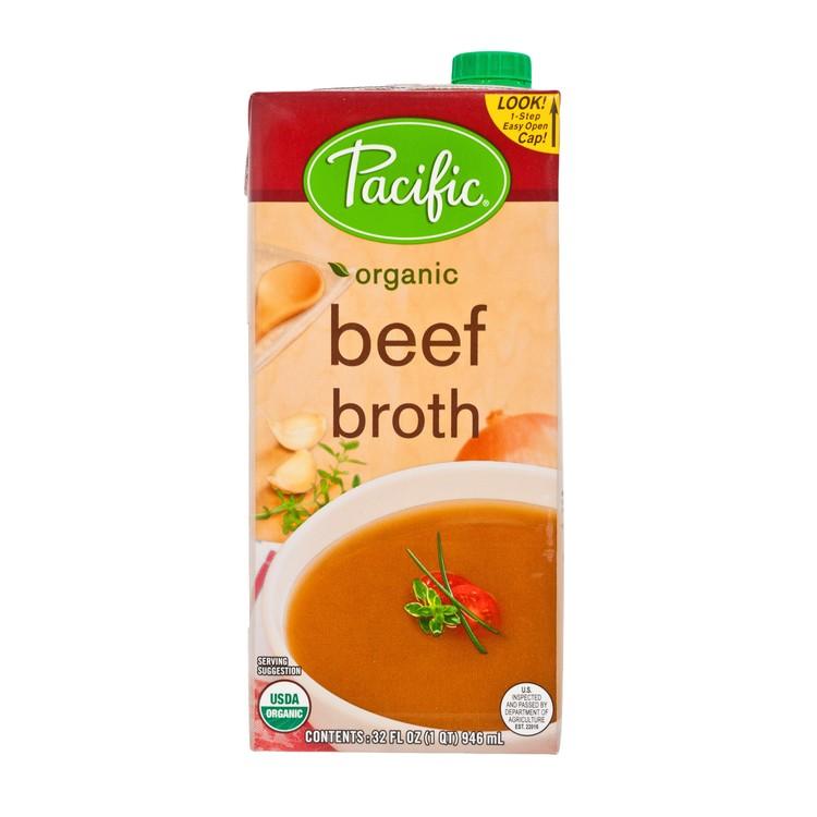 PACIFIC - ORGANIC BEEF BROTH - 946ML