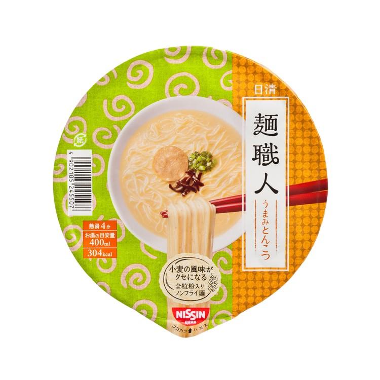 日清 - 碗麵-麵職人-鮮味豬骨 - 81G