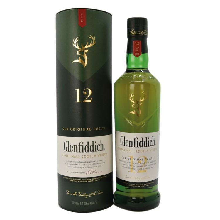 格蘭菲迪 - 威士忌-12年 (單一純麥) - 700ML